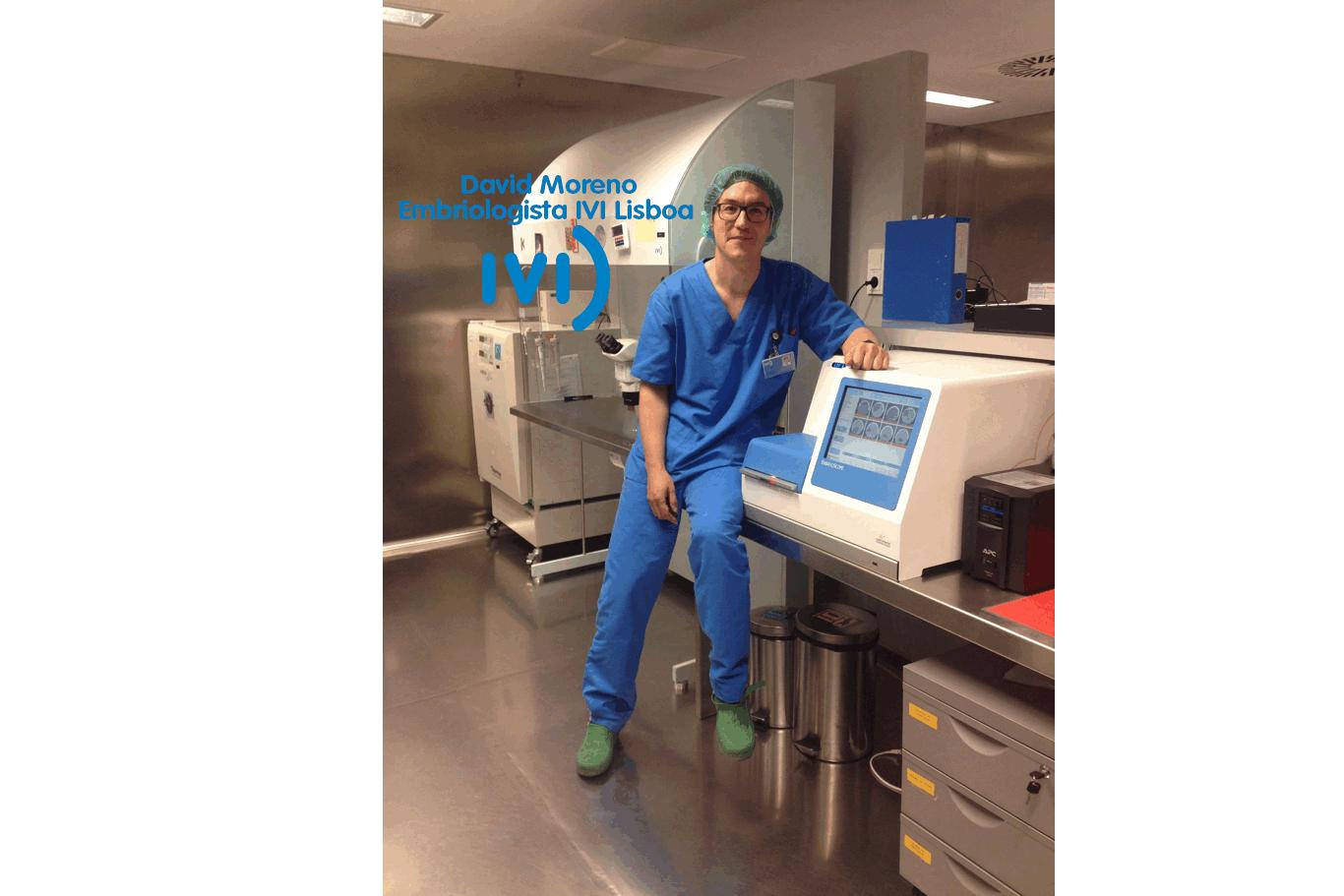 Embriologista – entrevista David Moreno