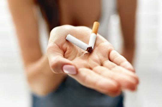 Deixe de fumar antes de engravidar